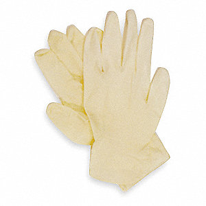 Cleanroom Gloves,Latex,XL,5 mil,PK 100