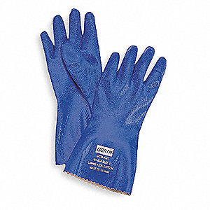 Chemical Resistant Glove,12 In,Sz 9,PR