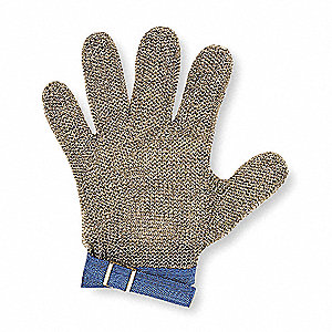 Uncoated Cut Resistant Gloves, ANSI/ISEA Cut Level 5, Dyneema® Lining, S, EA 1