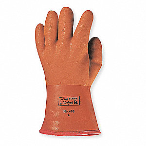 Chemical Resistant Glove,PVC,XL,PR