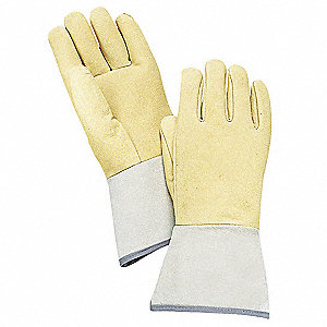 "Welding Gloves, TIG, 12-3/4"", XL, PR"