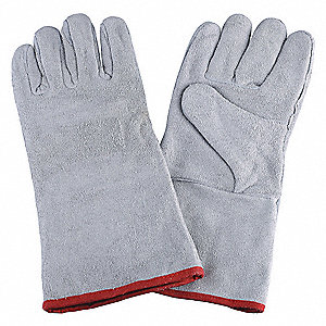"Welding Gloves,Stick,12-1/2"",M,PR"