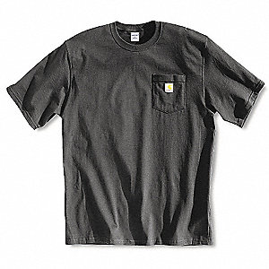 T-Shirt, Black, 2XL