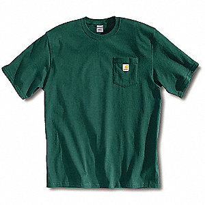 T-Shirt,Hunter Green,L