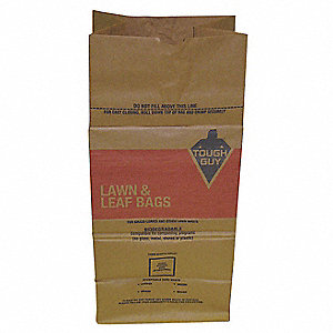 30 gal. Brown Outdoor Trash Bag, 5 PK