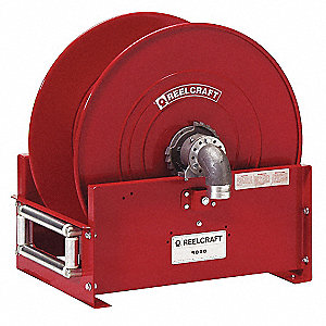 Hose Reel,Spring,600 psi,50ft
