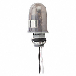 "Photocontrol, 120/277 Voltage, 2000 Max. Wattage, 1/2"" Conduit, Flush Mounting"
