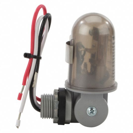 Photocontrol, 120V AC Voltage, 2,000 Max. Wattage, 1/2 in Conduit, 180° Swivel Mounting