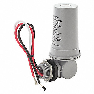 "Photocontrol, 208 to 277VAC Voltage, 4620 Max. Wattage, 180° Swivel, 1/2"" Conduit Mounting"