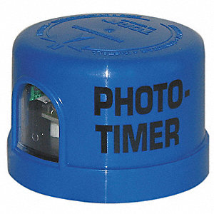 Photocontrol, 105 to 305VAC Voltage, 1000 Max. Wattage, Turn-Lock Mounting