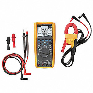 Full Size Digital Multimeter Kit, -328° to 2462°F Temp. Range