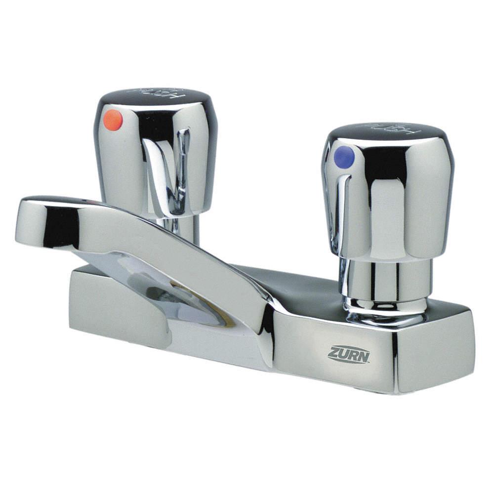 Zurn Bathroom Faucet zurn industries faucet,metering,push,1/2 in. npsm - 4jpd4|z86500