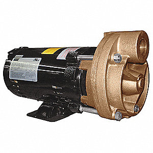Turbine Pump, 1 HP, 3 Ph, 3.2/1.6 Amp