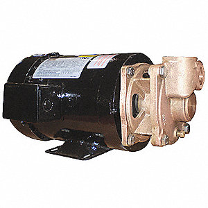1-1/2 HP Turbine pump, 208-230/460 Voltage, Max. Pressure (PSI):  130