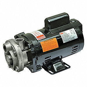 Turbine Pump, 1/3 HP, 1 Ph, 7.5/3.8 Amp