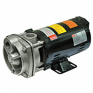 1/2 HP Turbine pump, 208-230/460 Voltage, Max. Pressure (PSI):  120