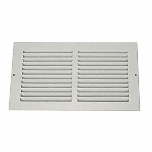 Return Air Grille,16x16 In,White