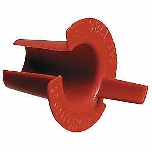 Bushing,Anti-Short,3/4 In,Plastic,PK50