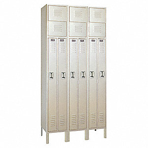 Wardrobe Lockr,Lvrd,3 Wide, 3 Tier,Putt