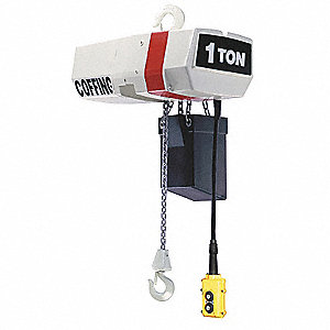 H3 Electric Chain Hoist, 2000 lb. Load Capacity, 460V, 10 ft. Lift, 16 fpm
