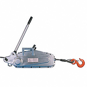 Ratchet Puller, 6000 lb. Lifting Capacity, 32 ft. Cable Length