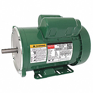 1-1/2 HP Auger Drive Motor,Capacitor-Start,1725 Nameplate RPM,115/230 Voltage,Frame 56Y