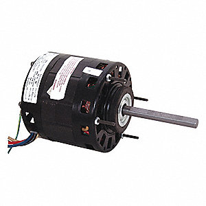 1/5 HP Direct Drive Blower Motor, Shaded Pole, 1050 Nameplate RPM, 208-230 Voltage, Frame 42Y