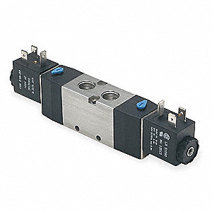 "1/2"" 24VDC, 4-Way/2-PositionSolenoid Air Control Valve"
