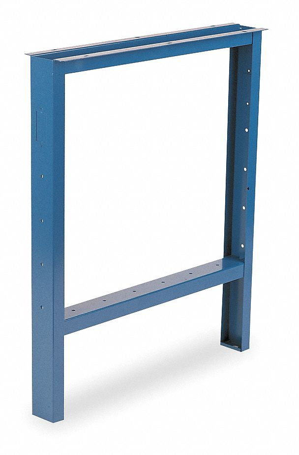 Open Leg, 3 W x 33 D x 33 in. H, Blue