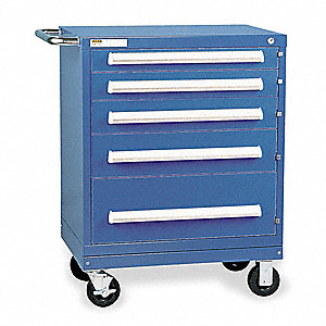Mobile Workbench Cabinet,21-3/8 In. L
