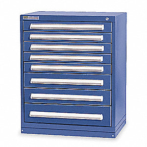 "Modular Drawer Cabinet, 37"" Overall Height, 30"" Overall Width, 27-3/4"" Overall Depth"