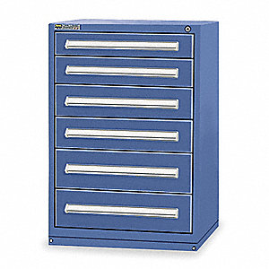 "Modular Drawer Cabinet, 44"" Overall Height, 30"" Overall Width, 27-3/4"" Overall Depth"