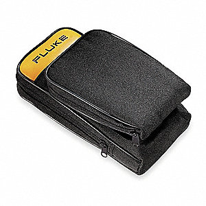 Soft Carrying Case,2-1/2x5-1/2x10,Blk/Yl