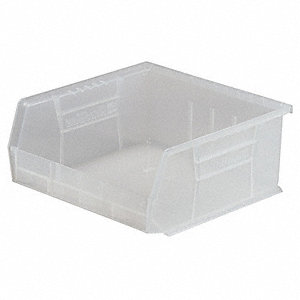 Hang/Stack Bin,7x16 1/2x14 3/4, Clear