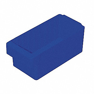 Drawer Bin,11-5/8 x 5-5/8 x 4-5/8In,Blue