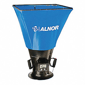 Loflo Balometer, ±3% of Reading ±5 CFM Accuracy, Hoods Included: 2 ft. x 2 ft.