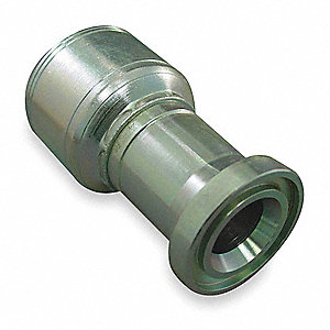 "Flange Fitting,Crimp,1"" Hose,1""Flange"