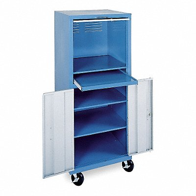 4KG35 - Computer Cabinet 26 x 24 x 64 In