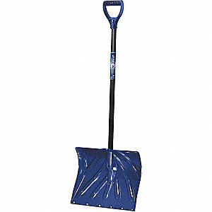 Poly Snow Shovel with Wear Strip