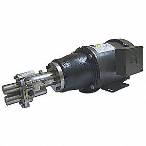 Rotary Gear Pump, 125 psi, 316 Stainless Steel, 3/4 HP, 3 Phase