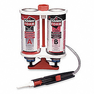 Spray Foam Sealant Kit, Sealant Application: Multipurpose/Construction, 1.76 lb. Size