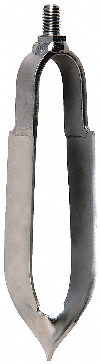 Auger,  3 in Dia. (In.),  Carbon Steel Bail, Carbon Steel Cylinder,  5/8 in Thread