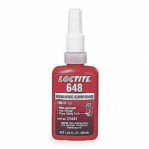 LOCTITE RETAIN COMP 648 HI STR FAST CURE 50 ML - Retaining Compounds