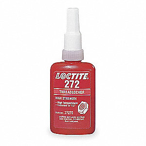 Threadlocker 272,250mL Bottle,Red