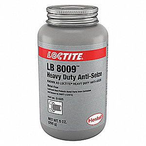 Metal-Free Anti-Seize Compound, -20°F to 2400°F, 9 oz., Black