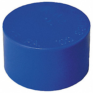 END CAP,1-3/8 IN,PLASTIC,PK 50