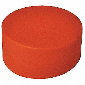 END CAP,2 IN,PLASTIC,PK 50