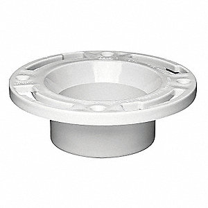 Toilet Flange,  Fits Brand Universal Fit,  For Use with Series Universal Fit,  Toilets