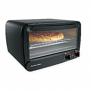 HAMILTON BEACH Toaster Oven 6 Slice Length 17 In 4KMX4