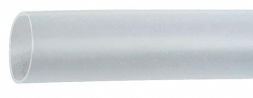 100 ft. Thin Wall Heat Shrink Tubing, Flexible Polyolefin, Shrink Ratio 2:1